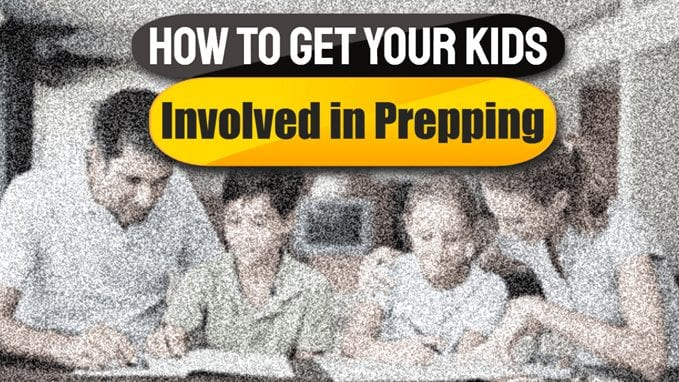 How to Get Your Kids Involved in Prepping